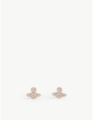 Vivienne Westwood Romina pavé orb earrings
