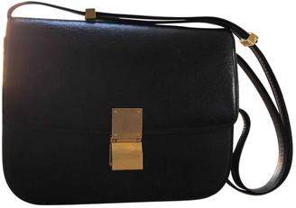 Celine Classic Black Leather Handbags