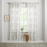 Fading Diamond Jacquard Curtain