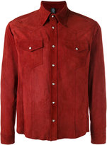Eleventy buttoned shirt - men - Suede - 48