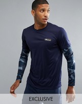 Ellesse Sport Long Sleeve T-shirt With Layered Sleeve