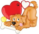 Grantwood Technology PERSONALIZED CHRISTMAS ORNAMENTS PETS DOG LOVER