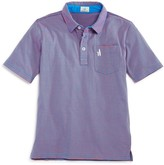 Johnnie-o Boys' Striped Polo Shirt
