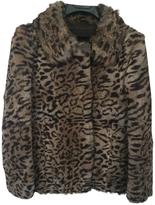 Isabel Marant Leopard fur jacket