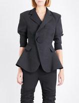 Jacquemus La Veste Qui Vole wool and cotton-blend jacket