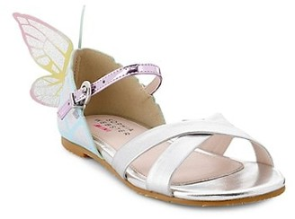 Sophia Webster Girl's Chiara Butterfly Leather Sandals