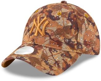 New Era Women's Brown New York Yankees Autumn 9TWENTY Adjustable Hat