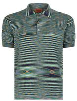Missoni Warped Stripe Polo Shirt