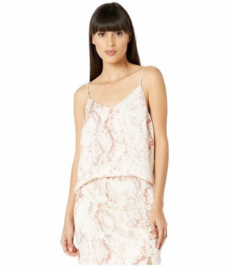 Cupcakes And Cashmere Women's Hermosa Snake Print Cami