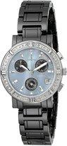 Invicta Women's 728 Ceramics Collection Chronograph Diamond-Accented Watch