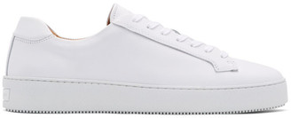 Tiger of Sweden White Salas Sneakers