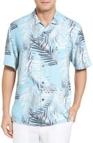 Tommy Bahama Men's Big & Tall Beyond Frond Silk Camp Shirt