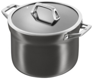 Zwilling J.A. Henckels Motion Aluminum Hard Anodized Nonstick 4-Qt. Soup Pot
