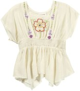 Mimi & Maggie 'Gathering Daffodils' Top (Toddler/Kids) - Natural-6