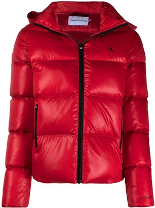 Calvin Klein Jeans Zipped Padded Jacket