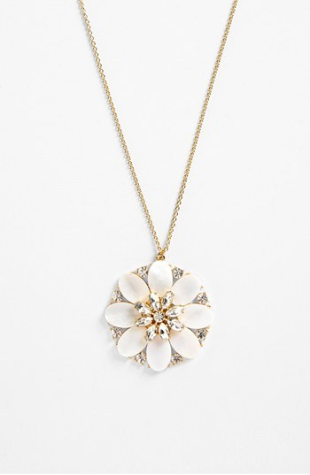 Kate Spade 'bungalow Bouquet' Long Pendant Necklace