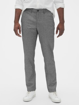 Gap Brushed Twill Pants in Straight Fit with GapFlex