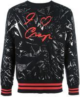 Vivienne Westwood Man - printed sweatshirt - men - Cotton/Spandex/Elastane - S