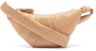 Lemaire Croissant Small Leather Belt Bag - Beige