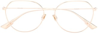 Christian Dior StellaireO15 soft-round frame glasses