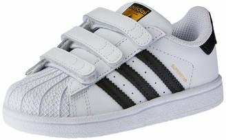 adidas Unisex Kids Superstar Cf I Fitness Shoes White (Ftwr White/Core Black/Ftwr White) 7 UK (40 2/3 EU)