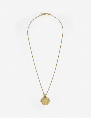 Missoma x Lucy Williams Roman Coin gold-plated vermeil sterling silver necklace