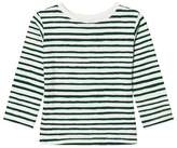 One We Like One Ls Stripe Aop White/Green