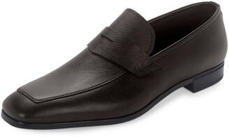 Prada Saffiano Leather Penny Loafer