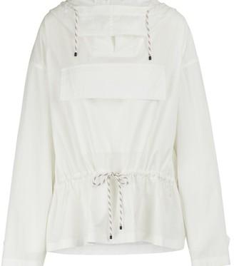 Dries Van Noten Cotton hooded jacket