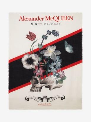 Alexander McQueen Wild Flower Shawl