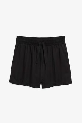 Monki Drawstring shorts
