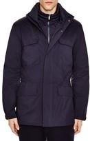 Z Zegna Three-In-One Slim Fit Field Jacket