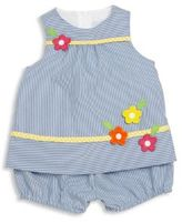 Florence Eiseman Baby's Follow Me Cord Top & Bloomers Set