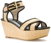 MRKT Dita Wedge Sandal - Natural/Black