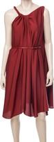 Max Studio Stretch Silk Georgette Dress