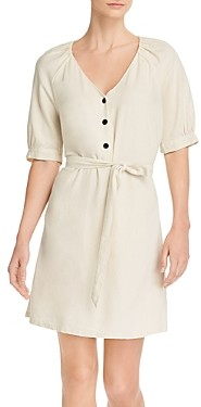 Vero Moda V-Neck Blouson-Sleeve Dress