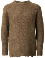 Monkey Time Ribbed Sweater