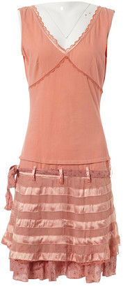 Les Petites Pink Silk Dress for Women