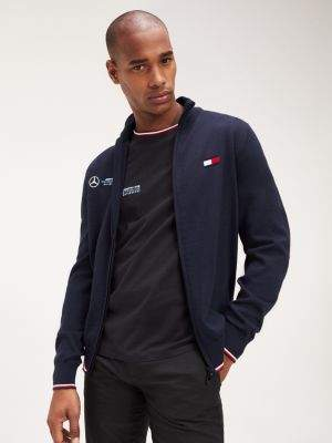 Tommy Hilfiger Mercedes-Benz Logo Zip-Thru Cardigan