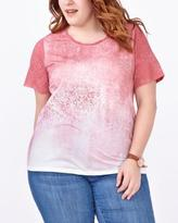 Penningtons Shaped Fit Ombré Print T-Shirt