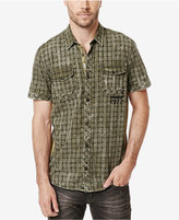 Buffalo David Bitton Men's Saruma Check Graphic-Print Shirt