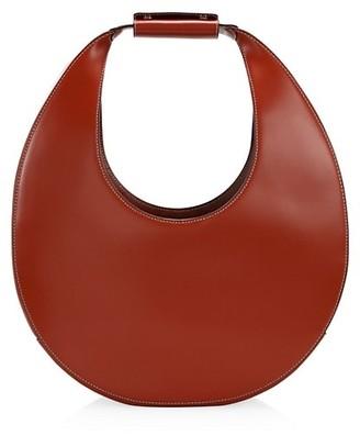 STAUD Large Moon Leather Hobo Bag