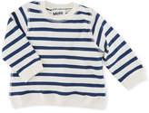 Molo Dennis Striped Pullover Sweatshirt, Size 6-24 Months