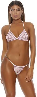 Forplay Women's Cabima Embellished Bikini Set