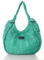 Marc by Marc Jacobs Green Nylon Embroidered Hobo Handbag