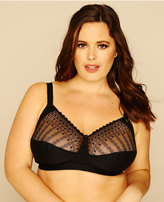 Yours Clothing BESTFORM Black Modern Comfort Non-Wired Bra