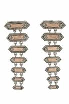House Of Harlow Gypsy Rope Earrings in Silver