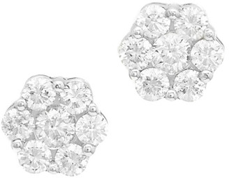 Diana M Fine Jewelry 18K 1.73 Ct. Tw. Diamond Earrings