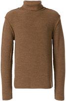 Maison Flaneur - turtleneck jumper - men - Wool - 48