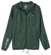 RVCA Men's Hexstop Ii Water Repellent Hooded Jacket